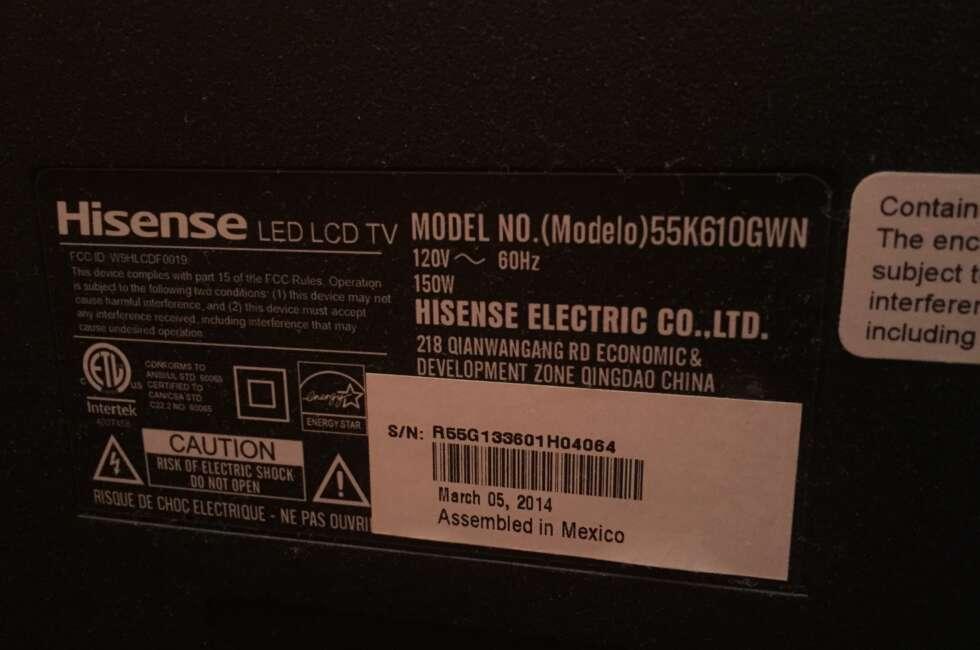 Hisense-55k610gwn