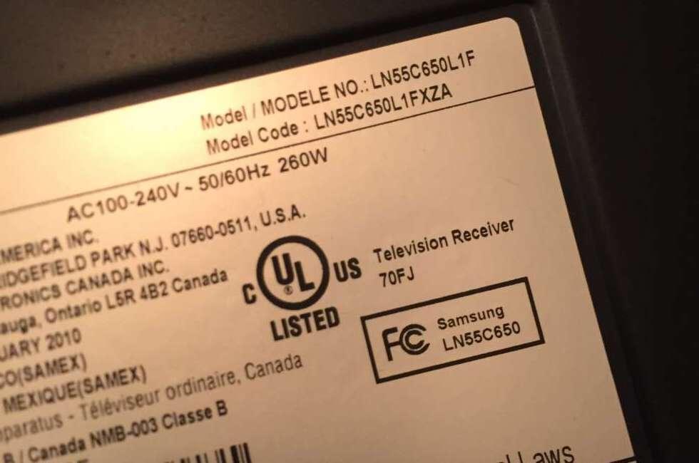 Samsung LN55C650L1FXZA