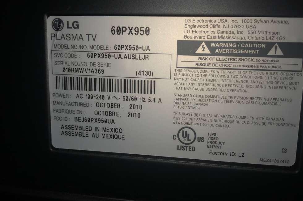 lg plasma tv repair orlando